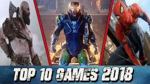 أفضل ألعاب 2018 القادمة بقوة